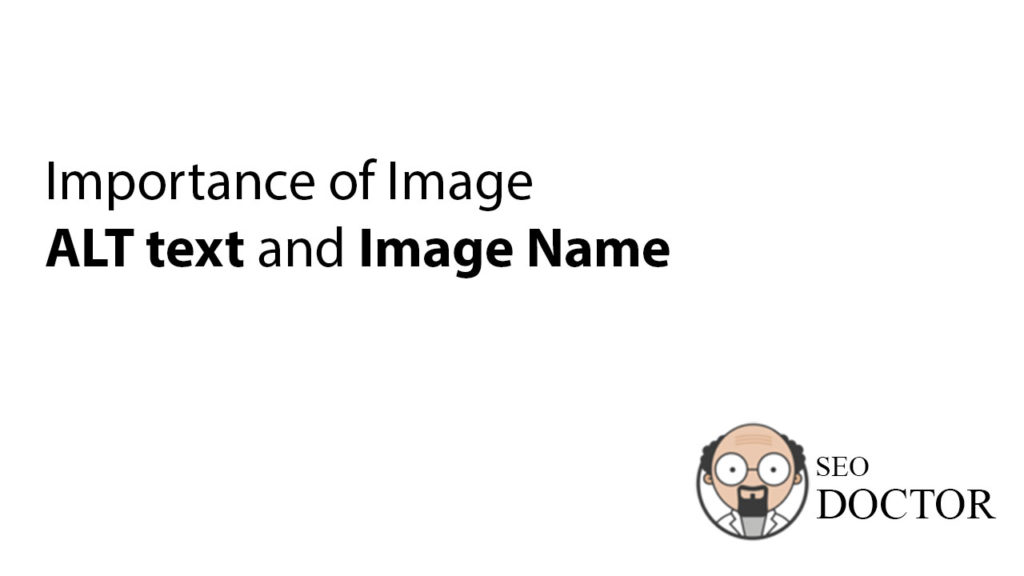 Importance of Image alt text and Image name in Shopify SEO