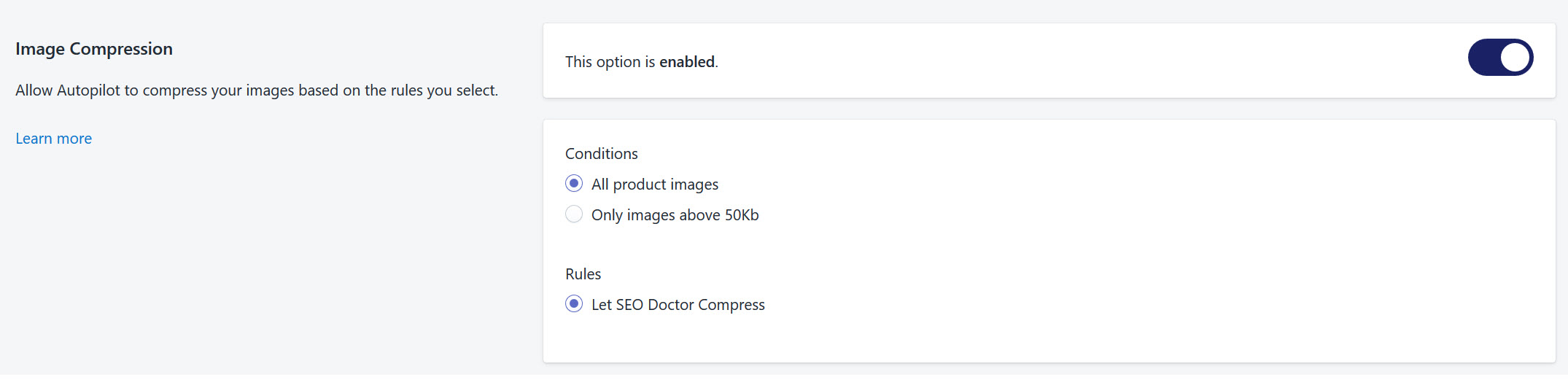 SEO Doctor Image Compression