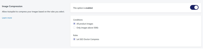 SEO Doctor Image Compression