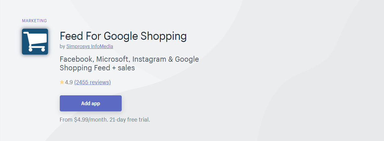 Top 10 Best Shopify App for Product Feeds - Feed For Google Shopping