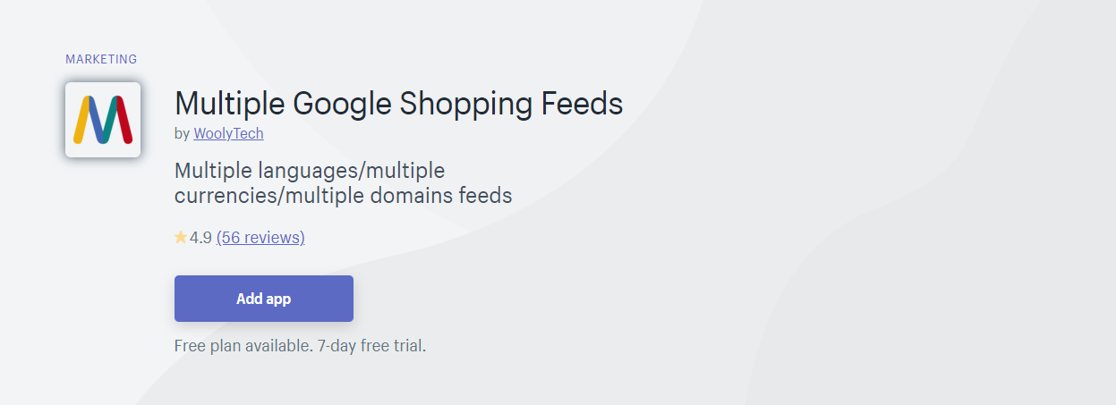 Top 10 Best Shopify App for Product Feeds - Multiple Google Shopping Feeds